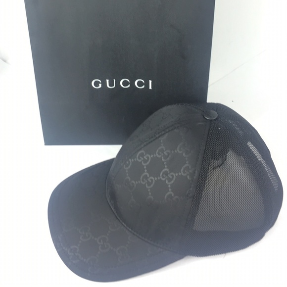 Gucci GG Nylon Canvas Baseball Cap 981a9ab7f4c7